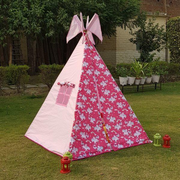 unicorn tipi tent