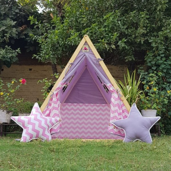 A-frame tent for kids