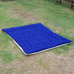 blue mattress