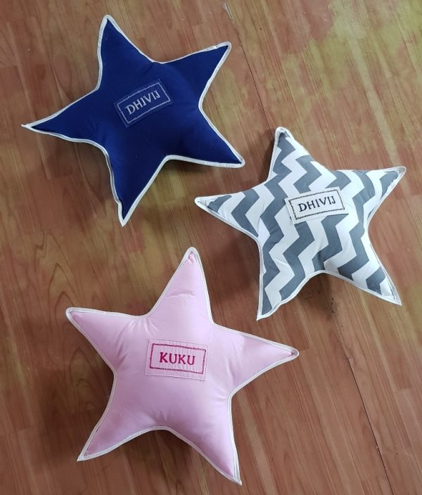 name star pillows