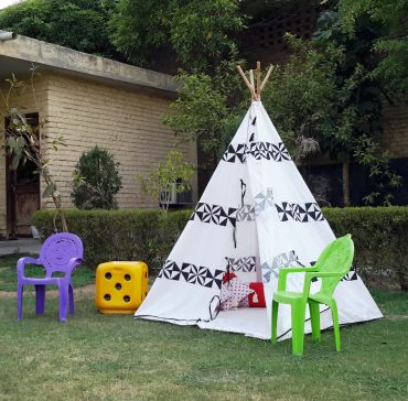Why do we use Bamboo Poles in Tipi Tents for kids ?